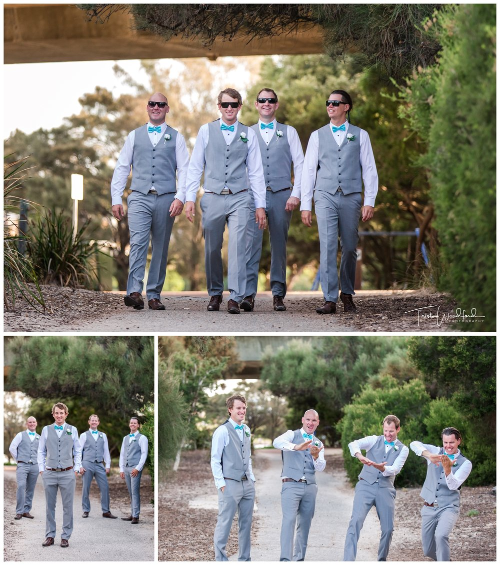 Groom and Groomsmen East Fremantle