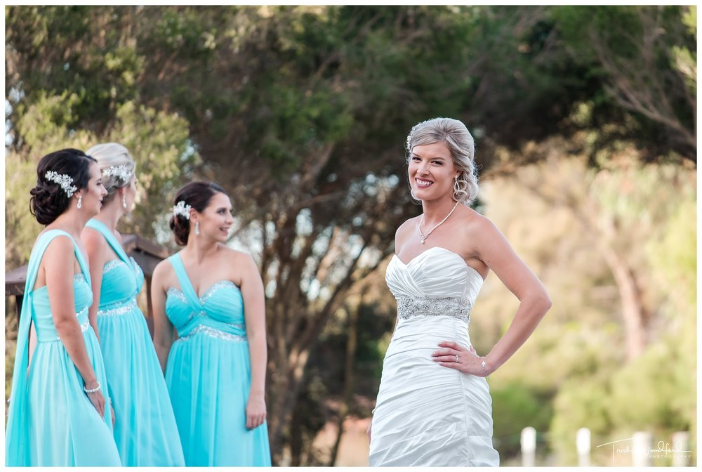 Bride and Bridesmaids Fremantle Wedding