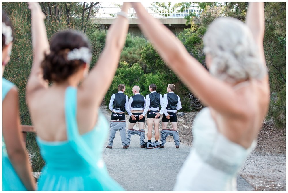 Groomsmen Fremantle Wedding