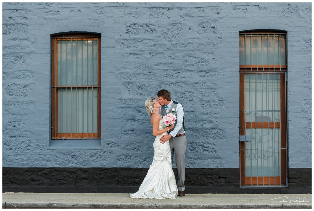 Bride and Groom Wedding Photo Fremantle