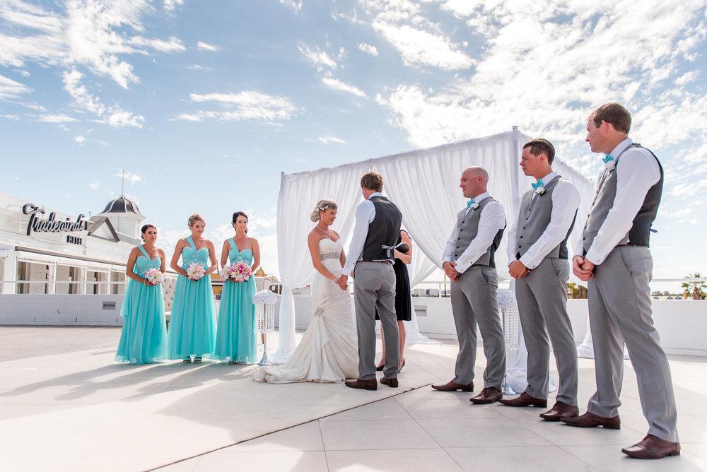 Tradewinds Rooftop Wedding Ceremony