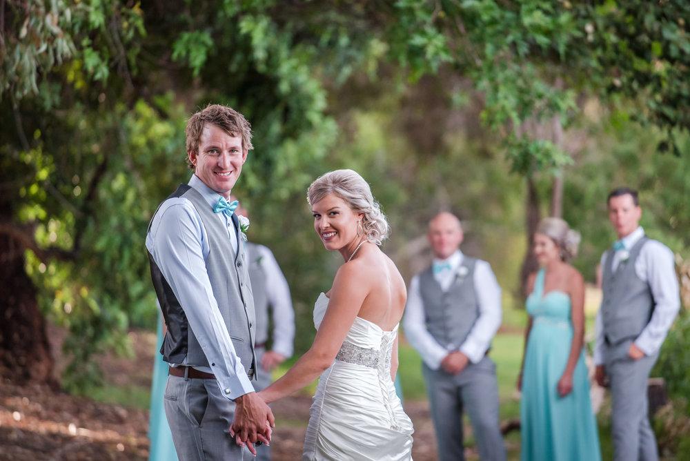 Bride and Groom Fremantle Wedding