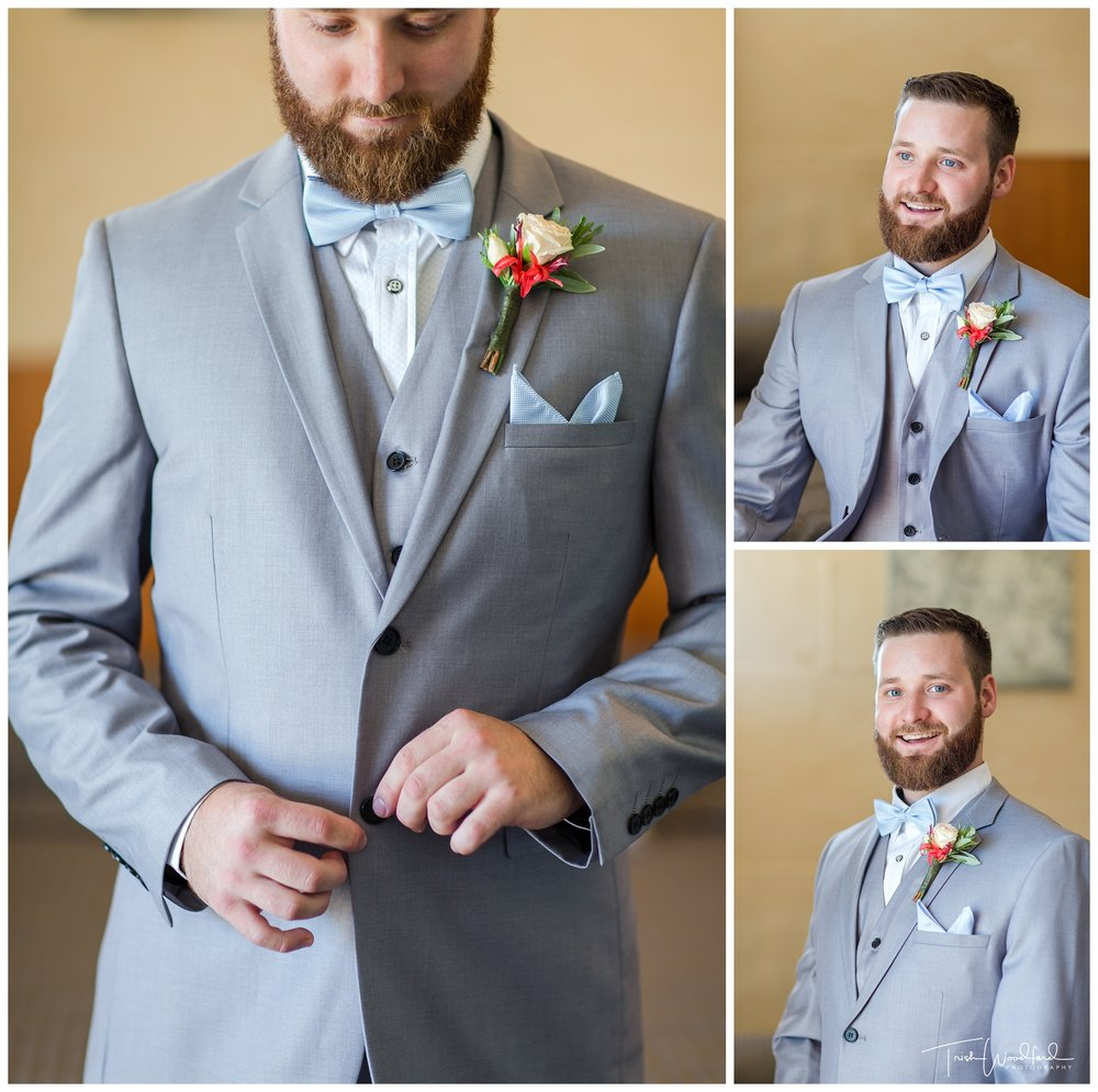 Yanchep Wedding Groom Portrait