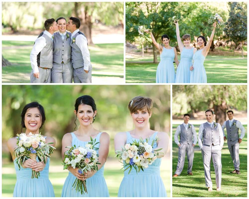 Yanchep Wedding Bridesmaids & Groomsmen