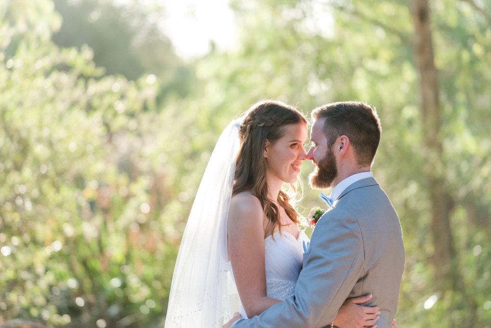 Bride and Groom Yanchep Wedding