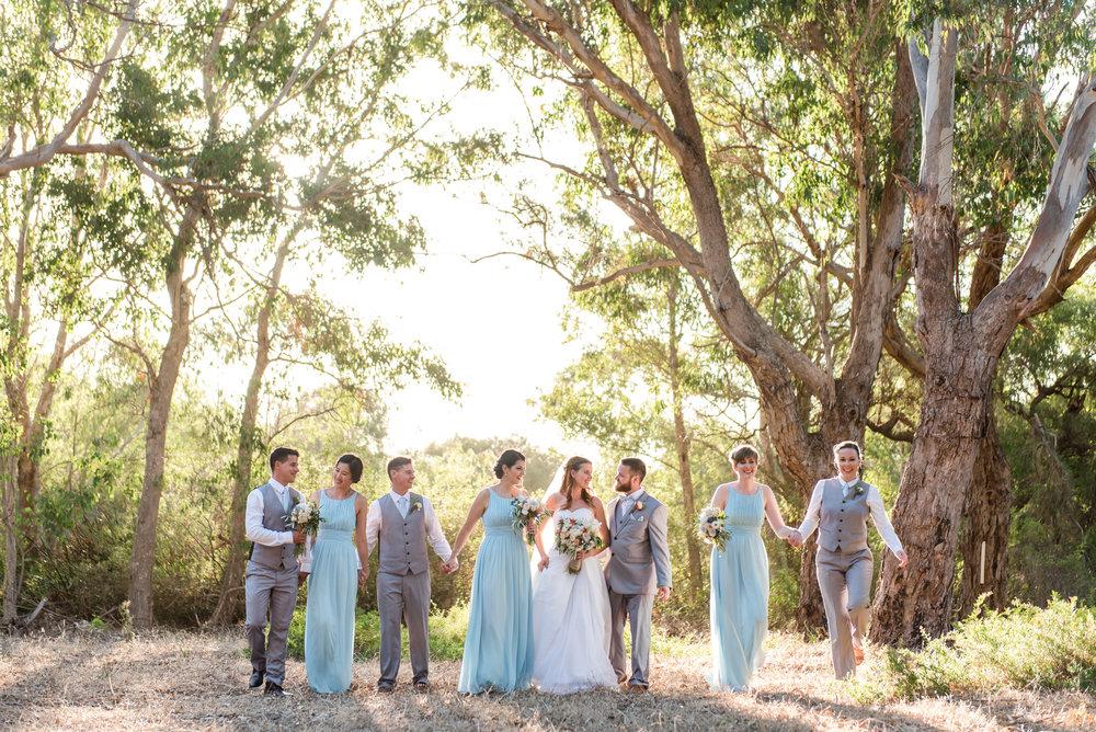 Bridal Party Yanchep Wedding