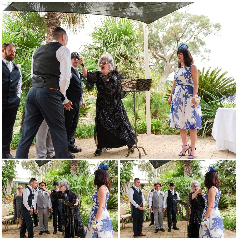 Meadow Springs Golf Course Wedding