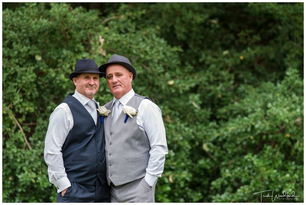 Mandurah Wedding Groom & Groom Portrait
