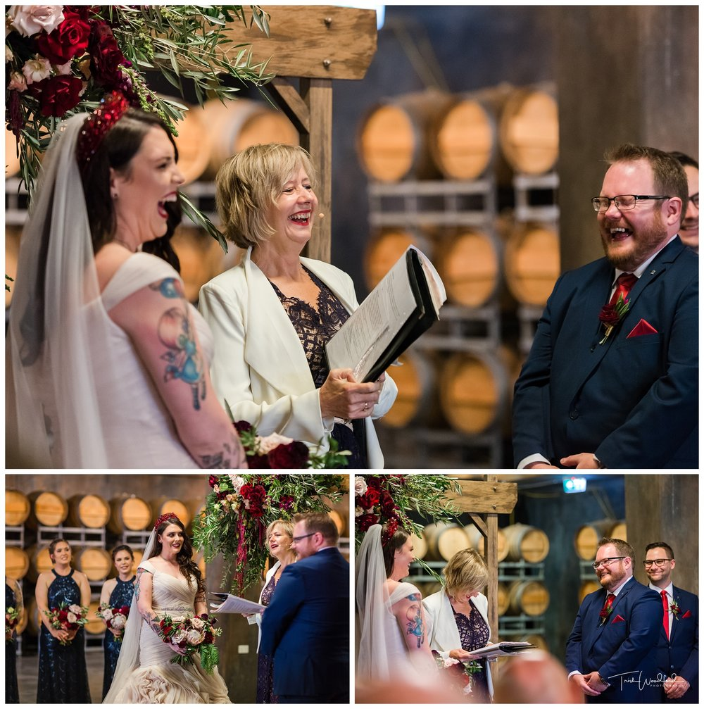 Sandaldford Cellar Wedding Ceremony