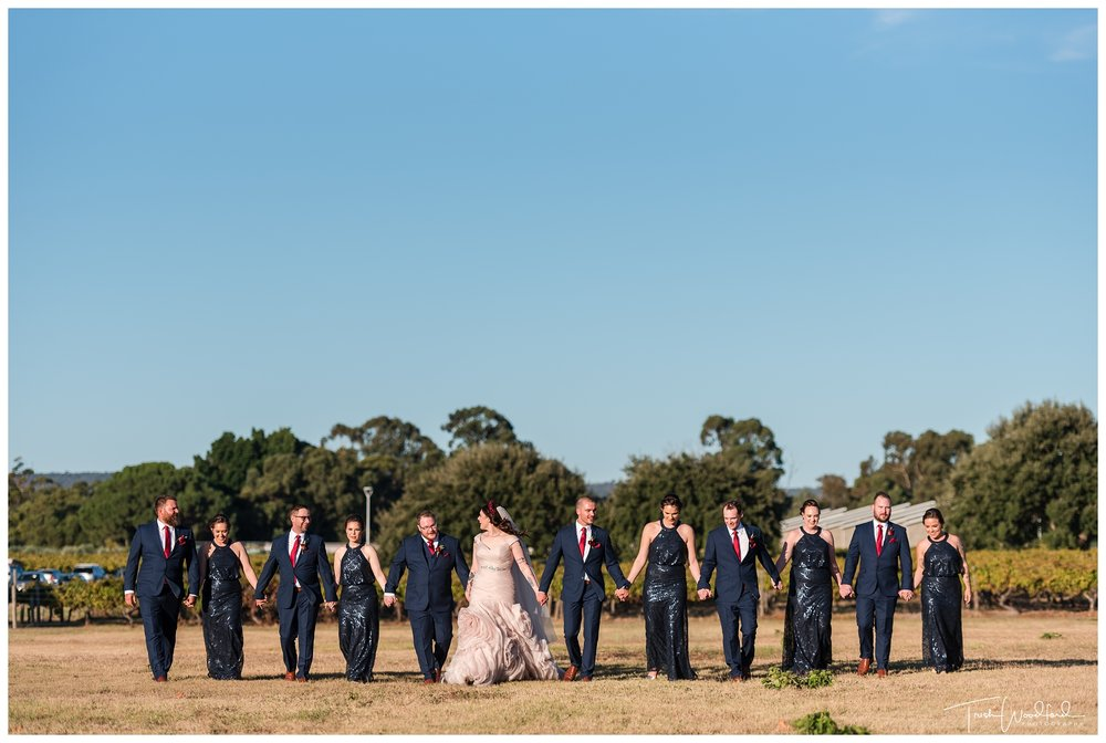 Sandalford Wedding Bridal Party