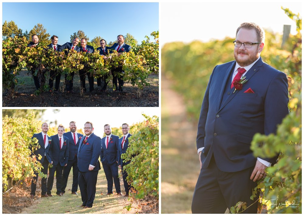 Sandalford Wedding Groom and Groomsmen