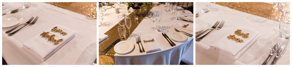Sandalford Wedding Reception Details