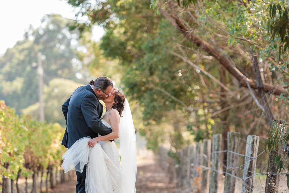 Saint Aidan Wines Wedding