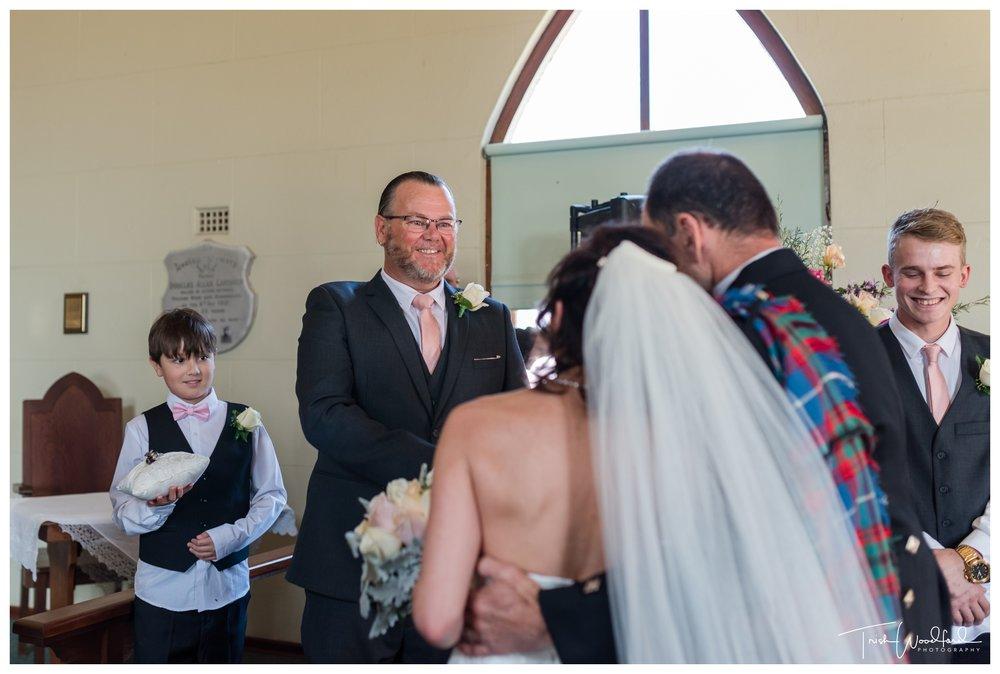 St Aidans Church Wedding Ferguson Valley