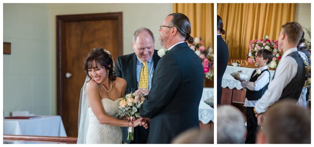 St Aidans Wedding Ceremony