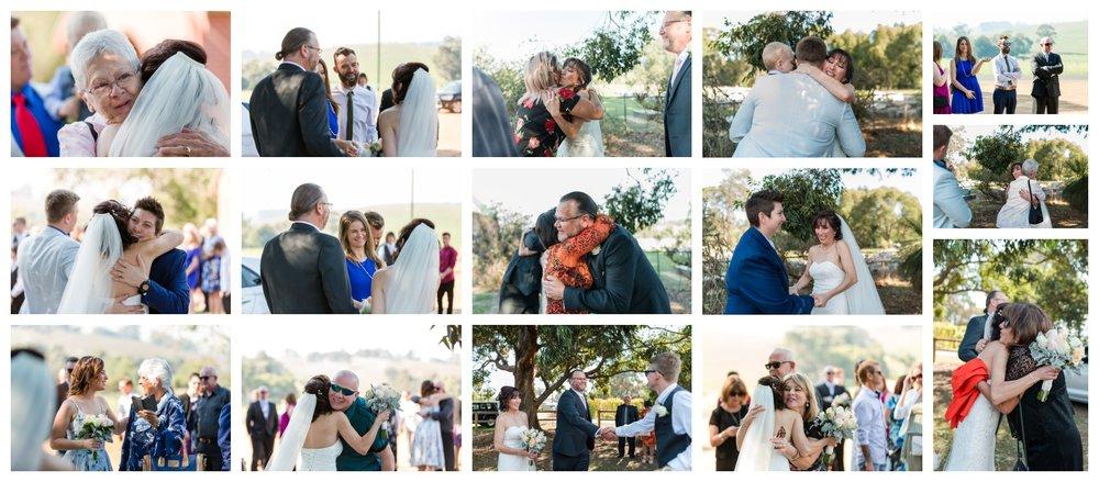 St Aidans Wedding Ferguson Valley