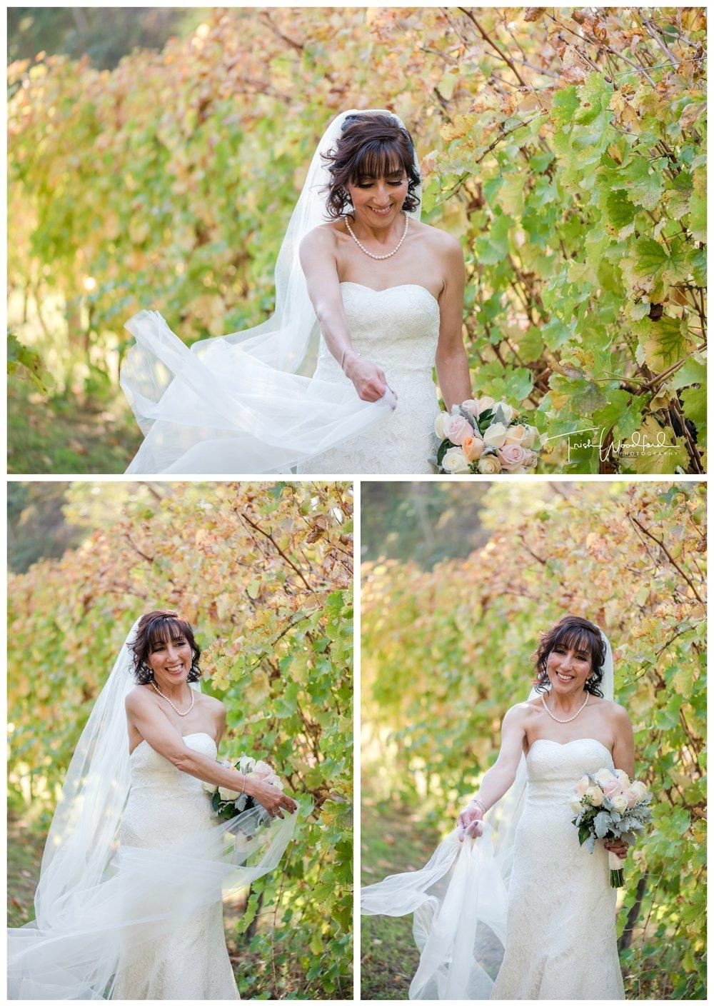 Bridal Portrait St Aidans Winery
