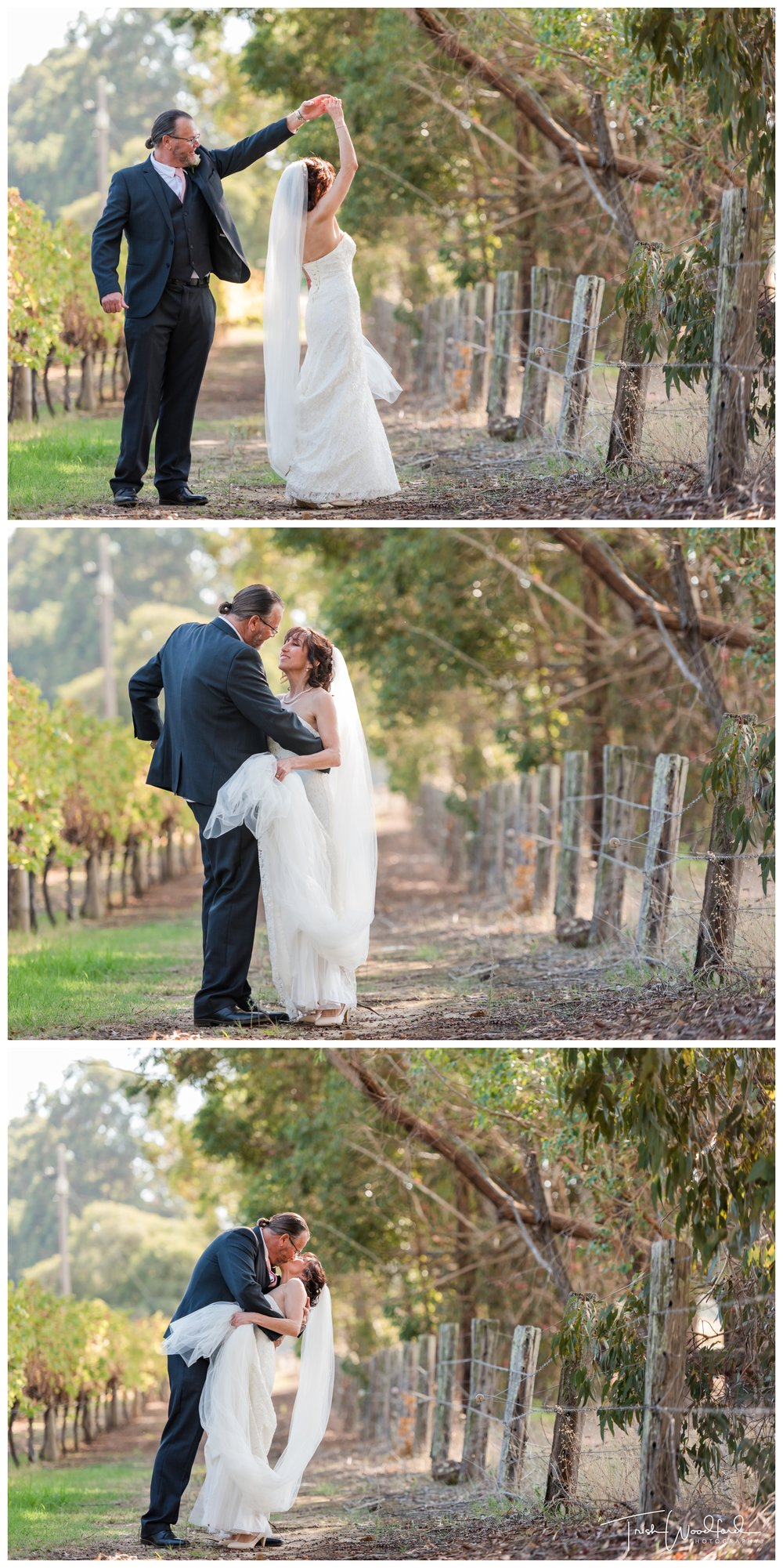 Bride and Groom St Aidans Winery