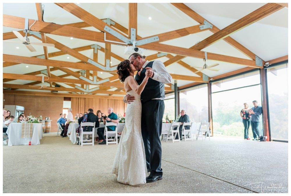 Wedding Dance St Aidans Winery