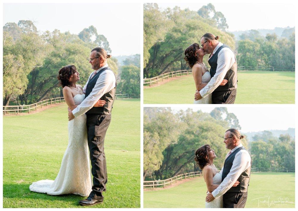 Bride and Groom St Aidans Winery Wedding