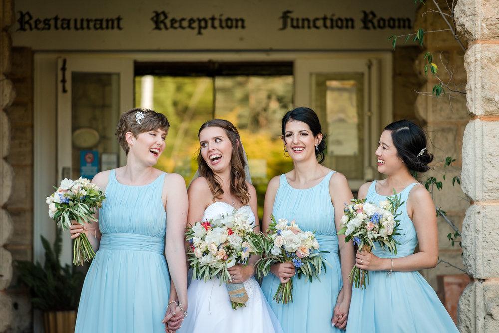 Bride and Bridesmaids Yanchep