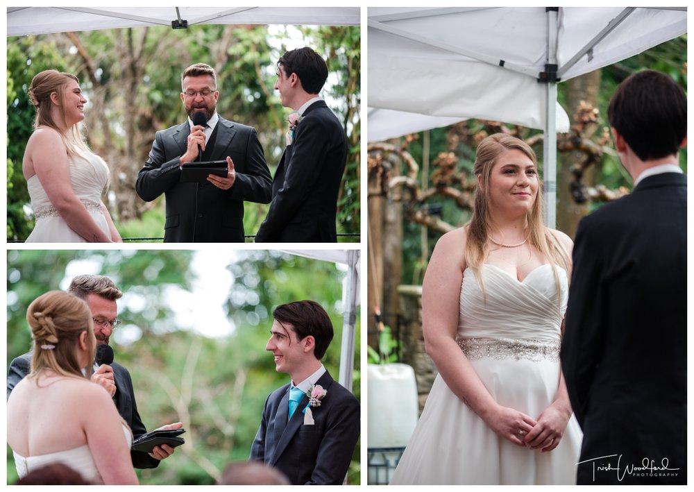 Wedding Vows Wanneroo Botanic Ceremony