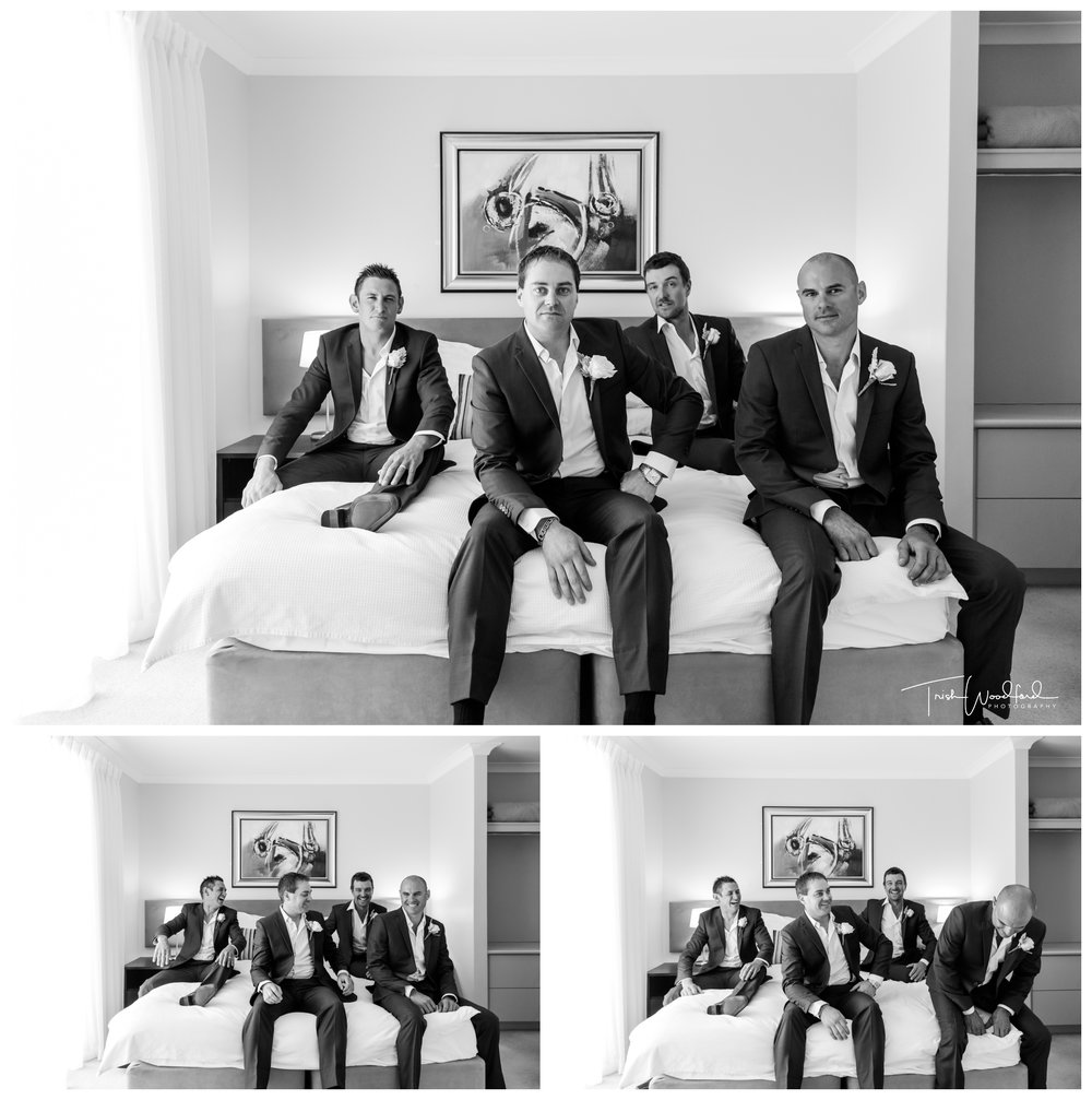 Groom & Groomsmen Mandurah Quay Resort