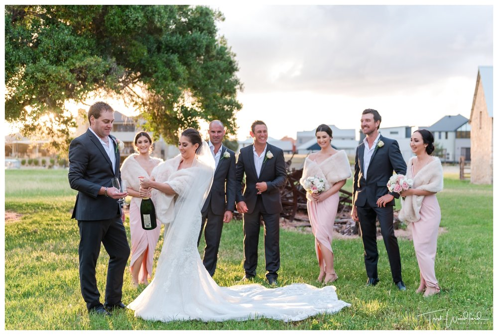 Bridal Party Mandurah Wedding