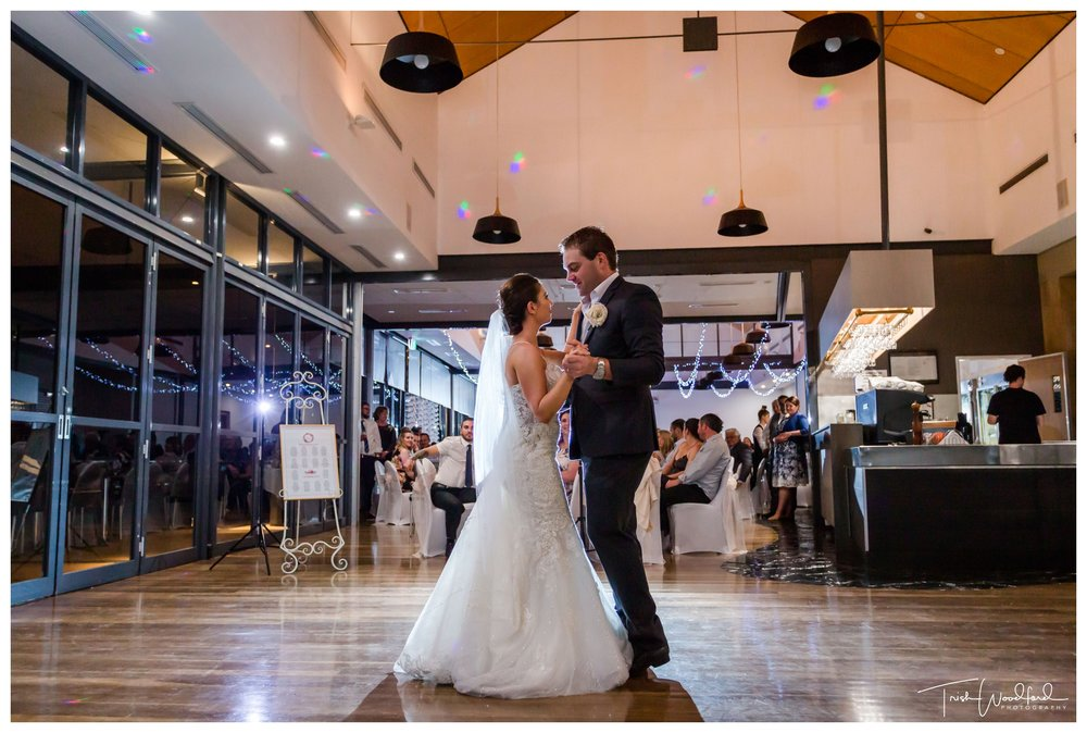 Bride and Groom Dance Mandurah Quays
