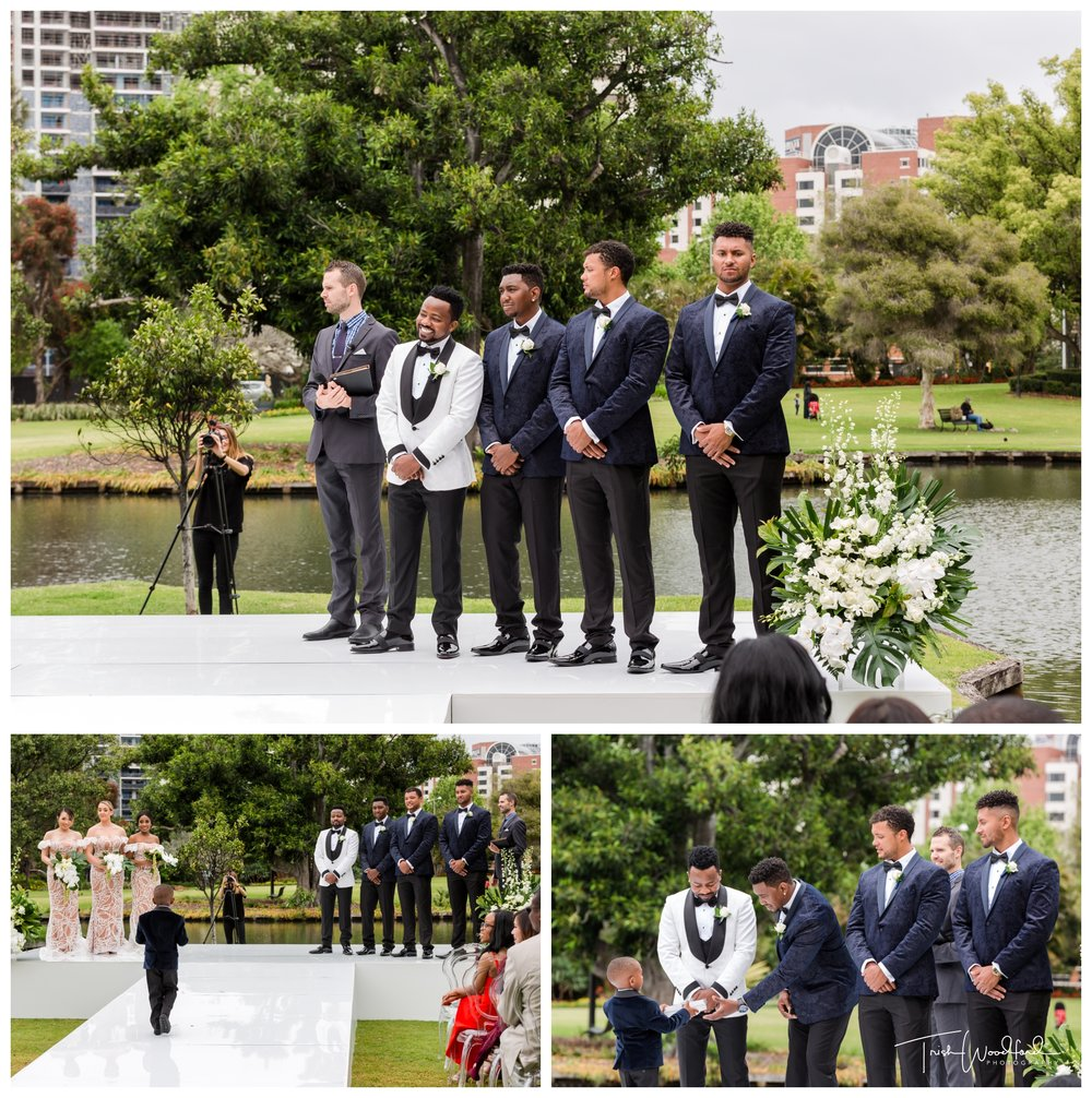 Queens Gardens Wedding Ceremony