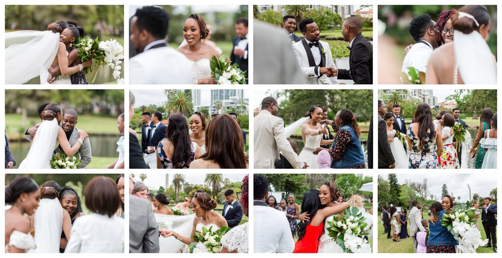 Queens Garden Wedding Ceremony