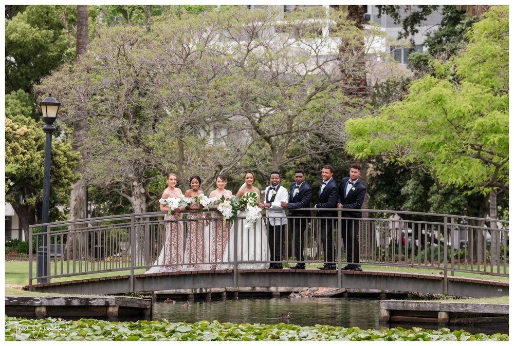 Queens Garden Bridal Party