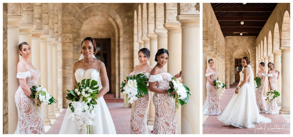 Bride and Bridesmaids UWA