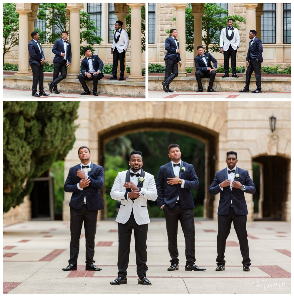 Groom and Groomsmen UWA