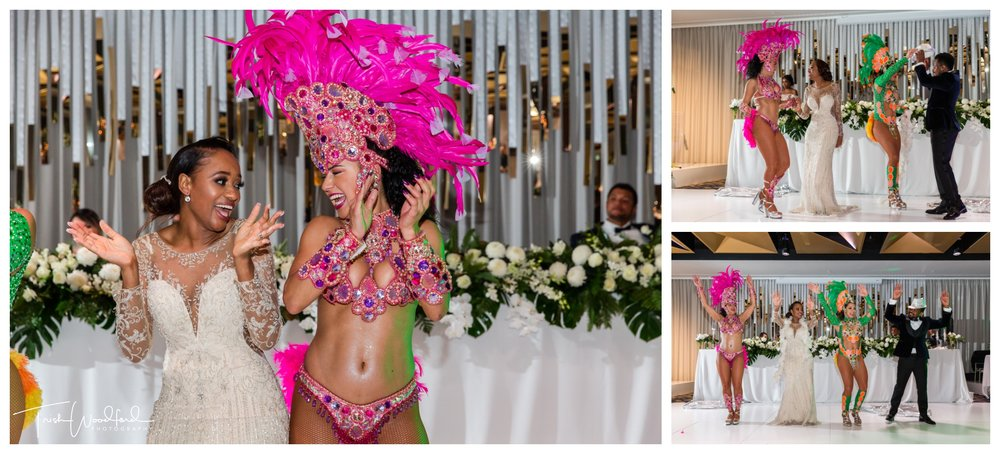 Sambrazil Dancers Beaumonde on the Point Wedding