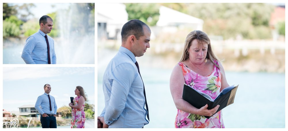 Rotary Park Wedding Ceremony