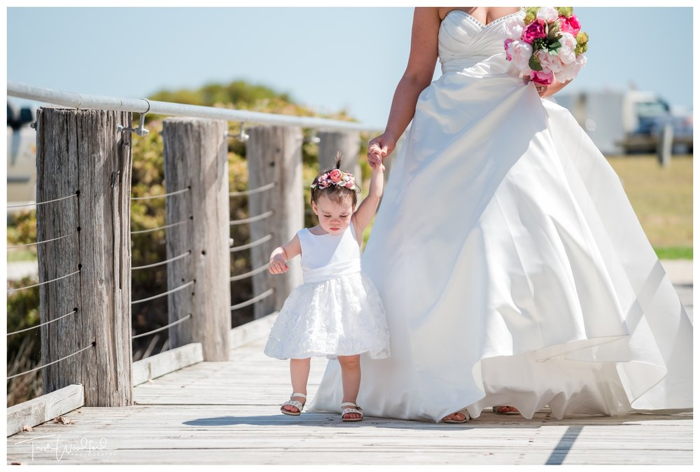 Flowergirl Rockingham Wedding