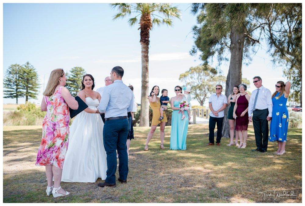 Rotary Park Rockingham Wedding