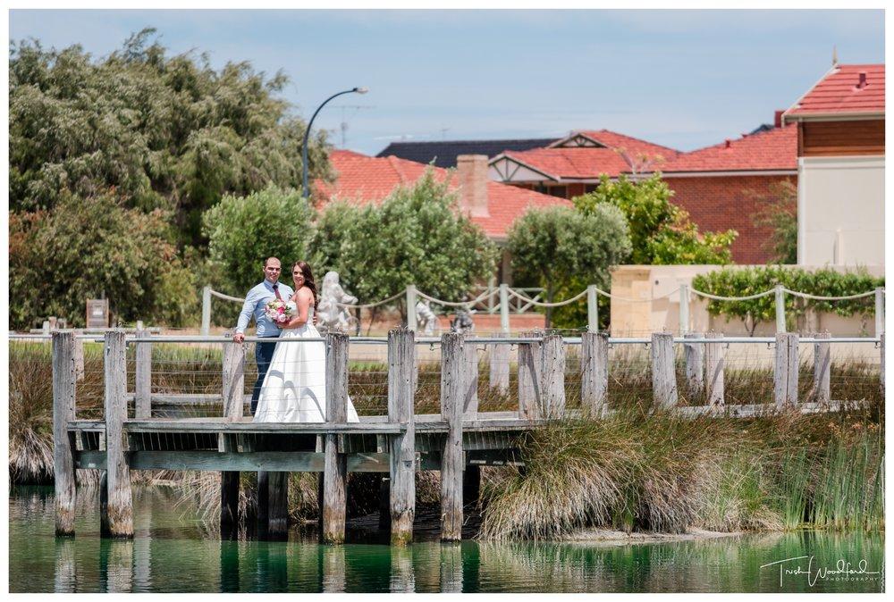 Bride and Groom Rotary Park Rockingham