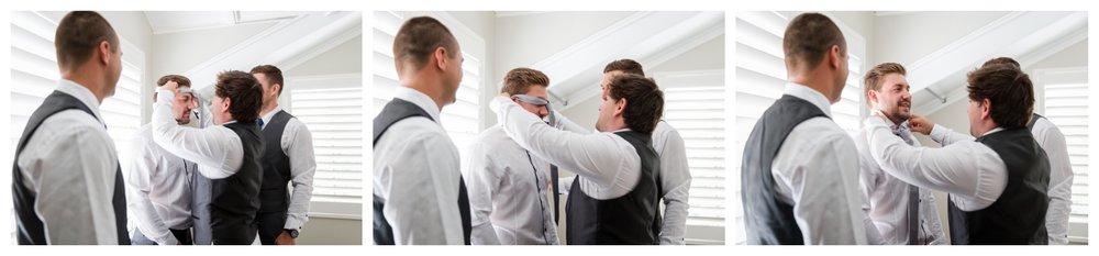 Groom and Groomsmen Yallingup Wedding