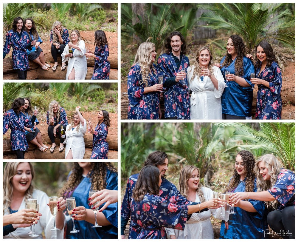 Bridal Party Nanga Bush Wedding