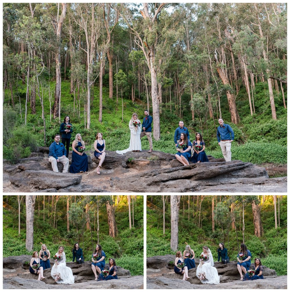 Bridal Party Nanga Bush Camp Wedding