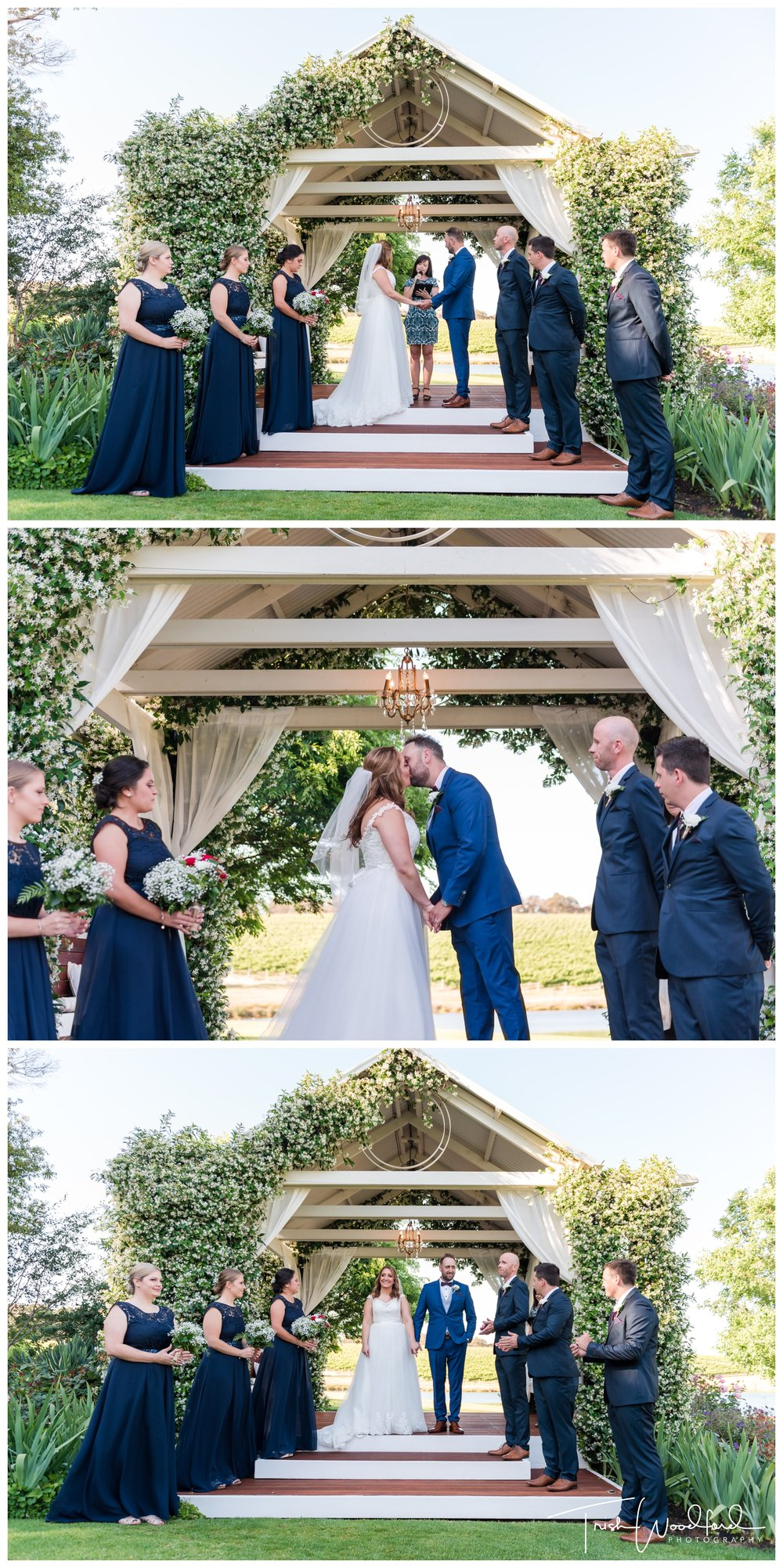 Ararvina Estate Wedding Ceremony