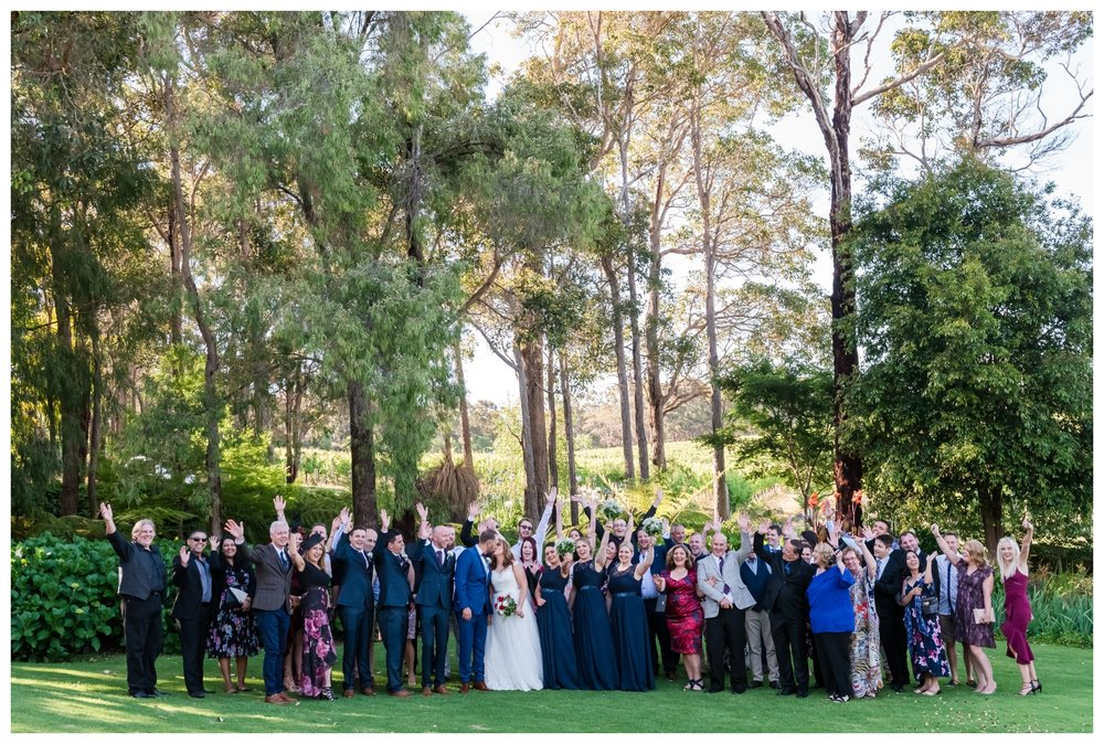 Aravina Estate Wedding Yallingup