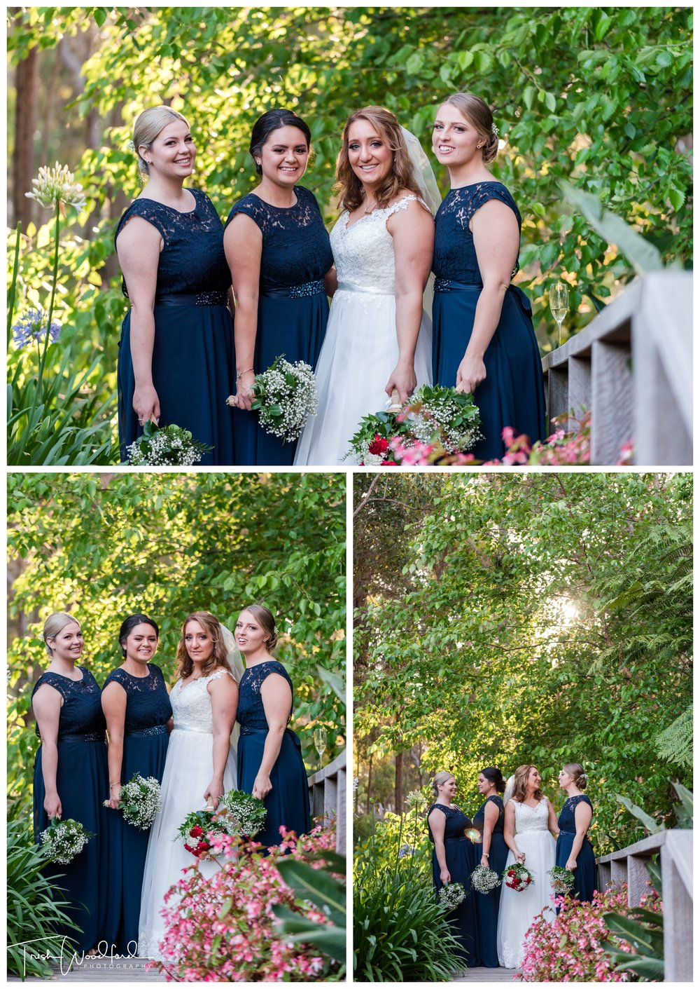 Bride and Bridesmaids Aravina Estate Wedding