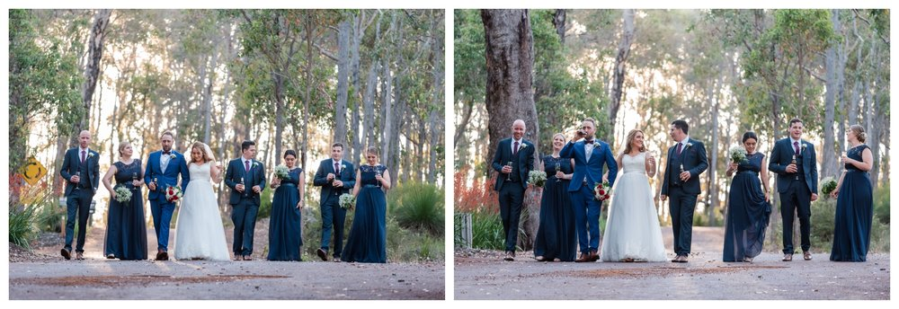 Bridal Party Aravina Estate Wedding
