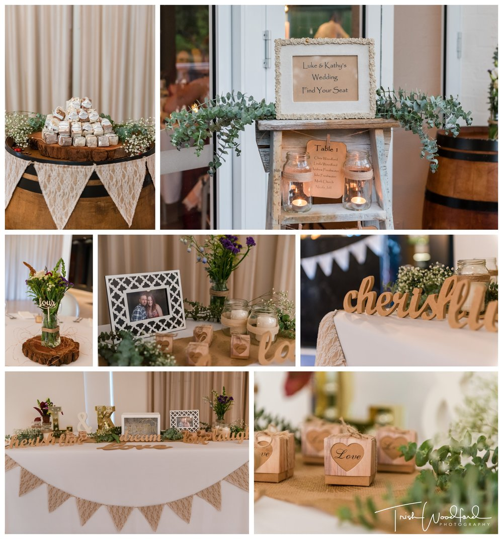 Wedding Reception Details Aravina Estate