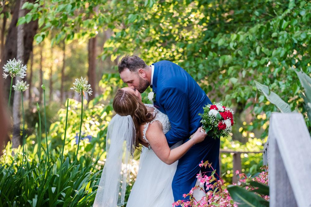 Bride and Groom Aravina Esate Wedding
