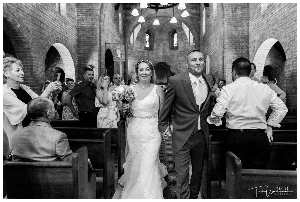 Bride and Groom Fairbridge Chapel