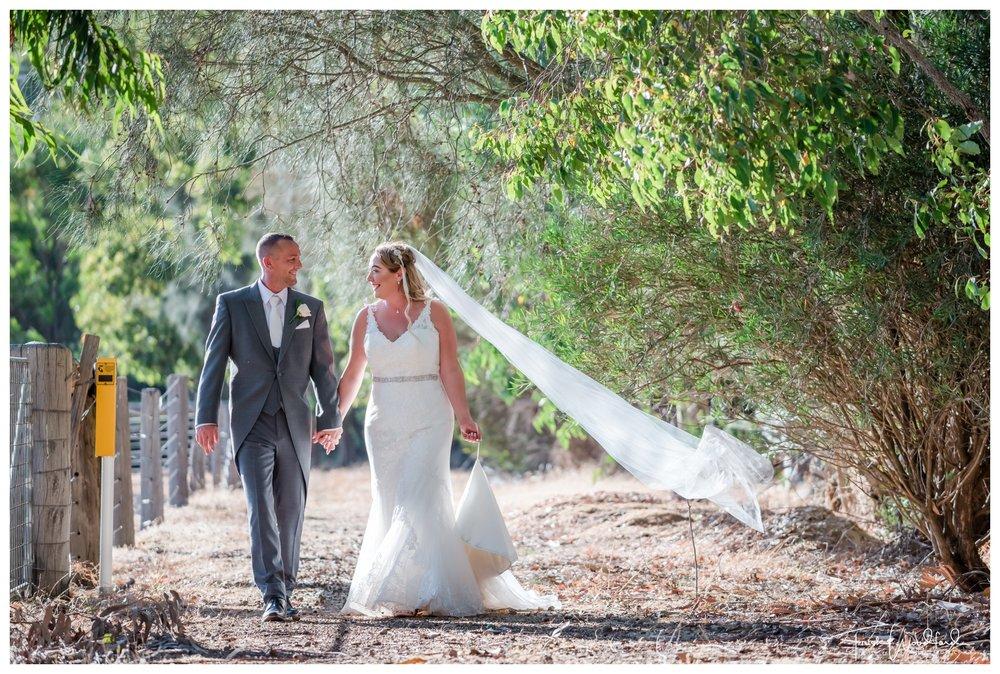 Bride and Groom Fairbridge Wedding